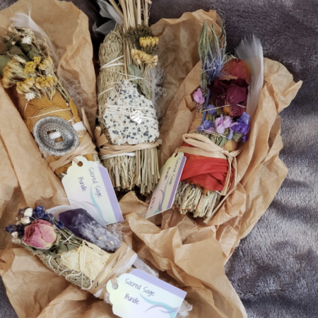 The purpose of the sage smudge stick is to cleanse both yourself and your environment