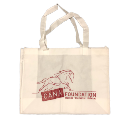 Running Free Logo Reusable Tote Bag