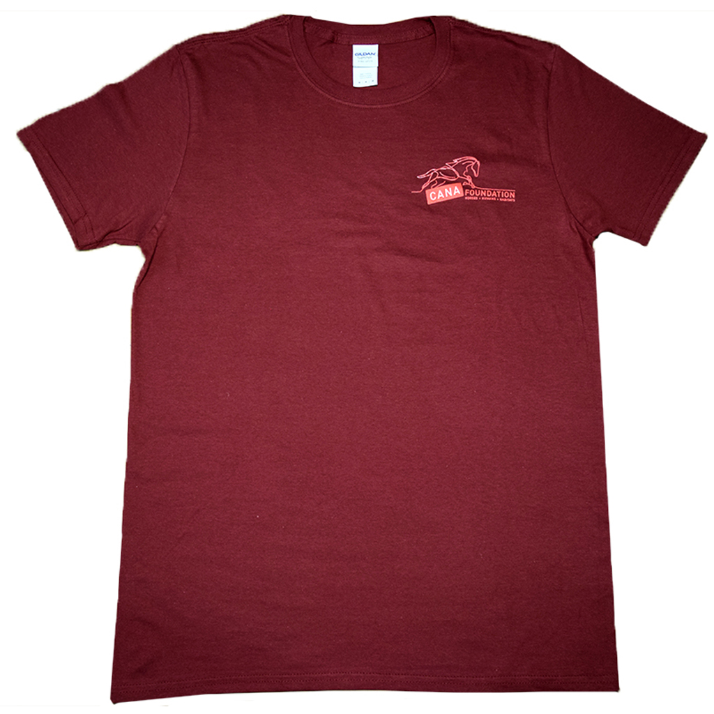 Men's Maroon Logo Shirt