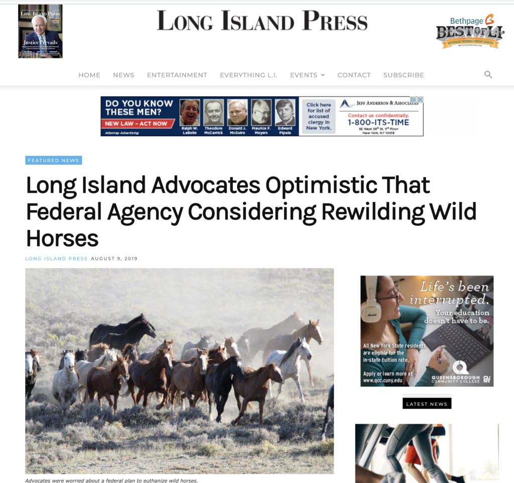Long Island Press Cana Foundation
